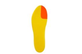 2.Palmilha para hálux valgo com arco e cunha interna para evitar a pronação