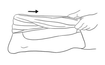 tendinite calcaneo alongamento