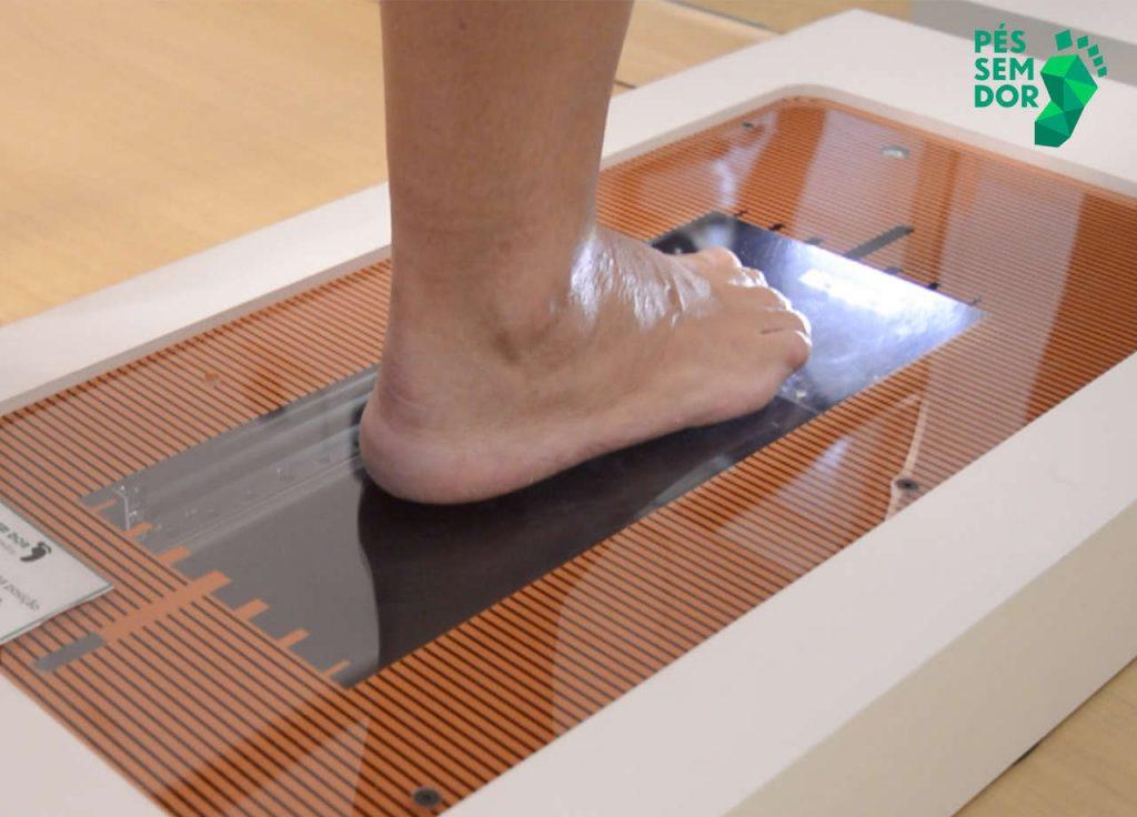 Análise dos pés no escâner 3D